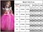 Kids-Belle-Elsa-Anna-Cosplay-Costume-Dress-Girls-Princess-Fairytale-Fancy-Dress thumbnail 19
