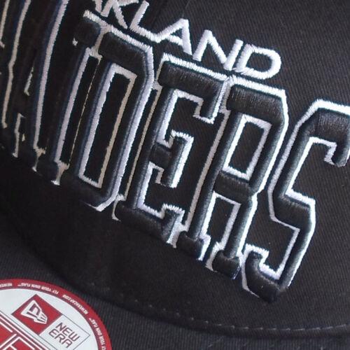 Oakland Raiders Licenced NFL New Era 9FIFTY Snapback Cap