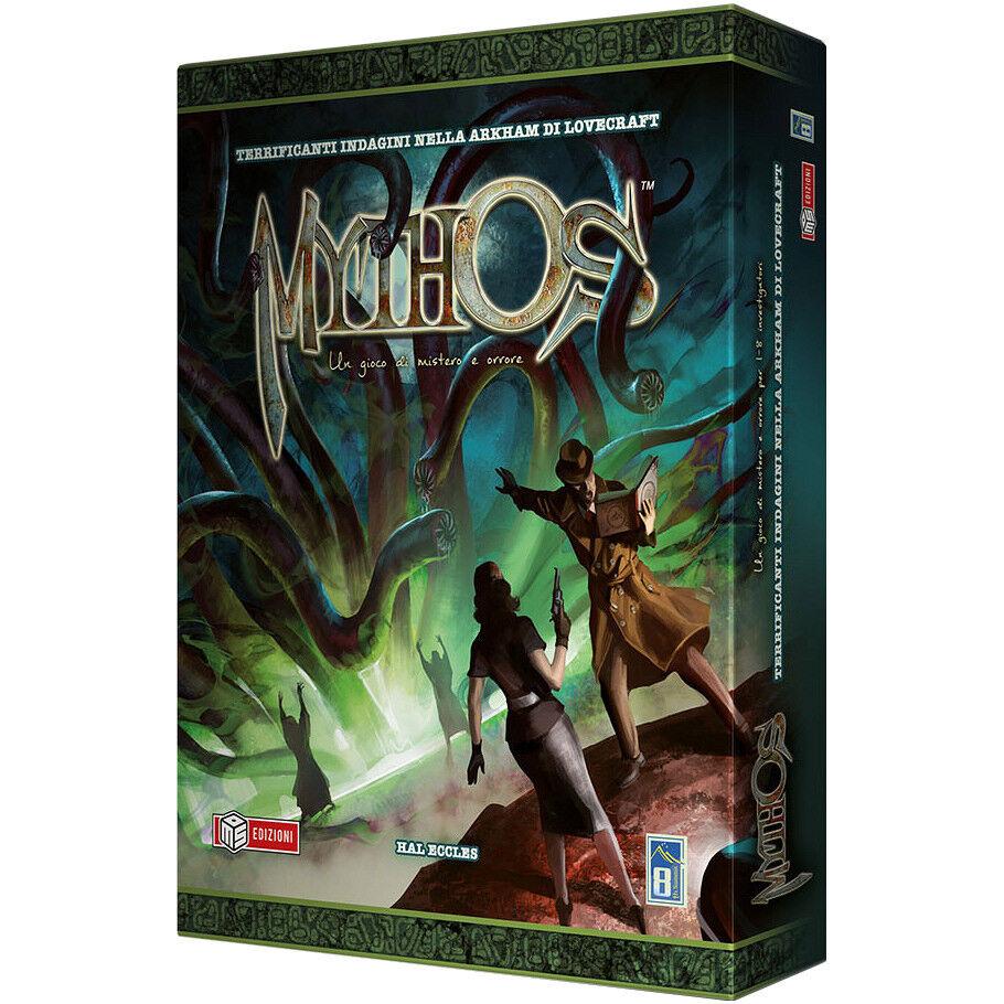 Mythos, Juego por Mesa, Nuevo por MS Edizioni, Edición Italiana
