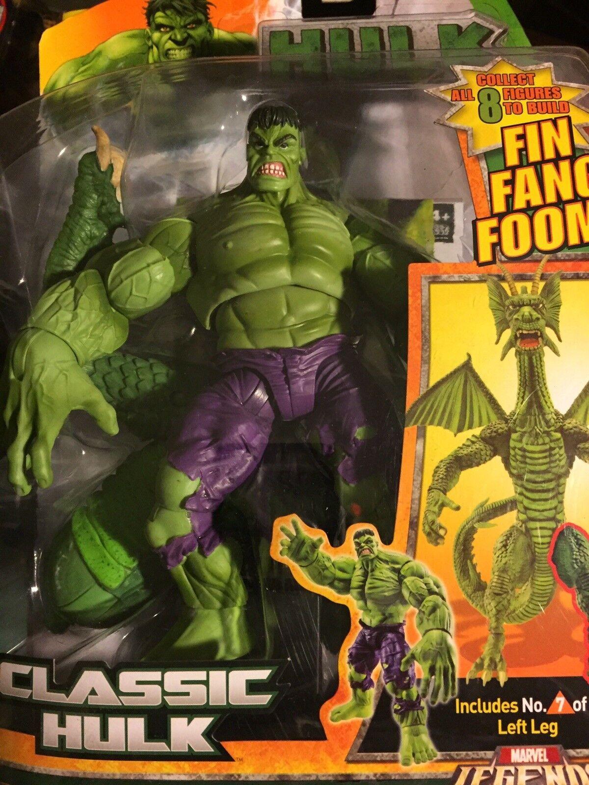 Marvel - legenden - klassiker hulk - fin fang foom baf hulk - serie versiegelt abbildung