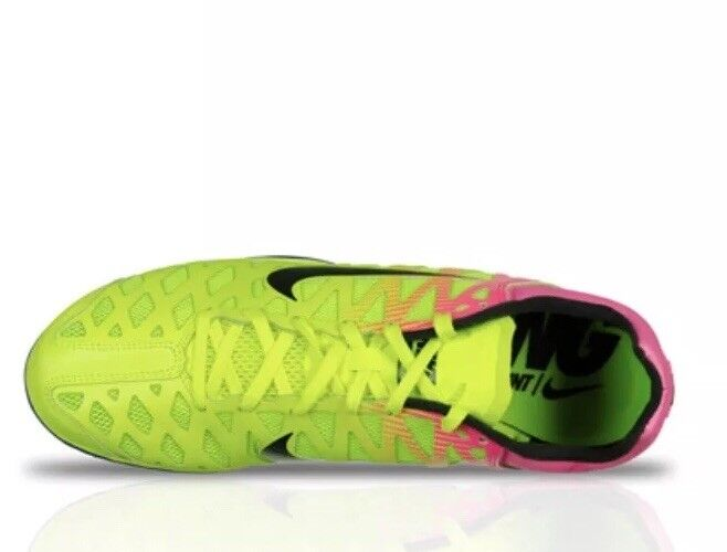 9eb612546991a ... Nike Zoom Maxcat Maxcat Maxcat 4 Men s Spikes Track Shoes 882012 999  Volt Pink Size 13 ...
