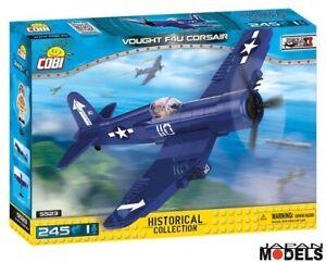 VOUGHT-F4U-CORSAIR-245Pz-World-War-II-Cobi-5523-Costruzione-Mattoncini-Blocks