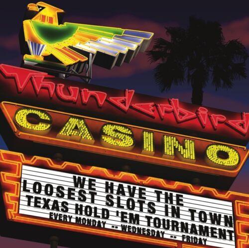 Anthony Ross Texas Hold/'em Poster 11x14 LAS VEGAS CASINO ART PRINT Thunderbird