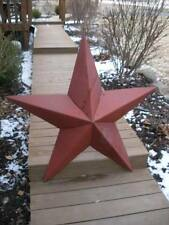12/'/'Rusted*Metal*Star*Barn*Old*Roof*Rusty*Sign*Texas*Handmade By Seller Signed