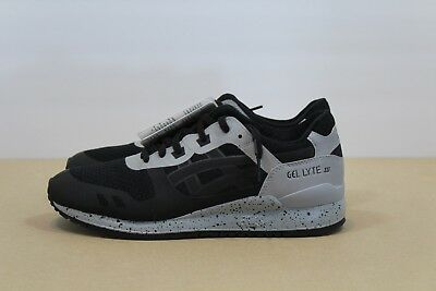 the latest 234ec d2a3e Asics Tiger GEL-Lyte III 3 NS Casual Running Shoes Black/Grey H7X4N-909  Size 8.5 | eBay