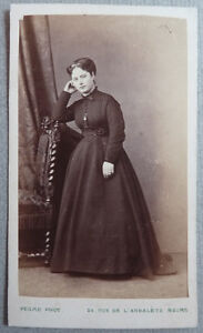 Photo Carte De Visite Cdv Ancienne Par Pesme