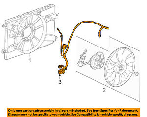 details about chevrolet gm oem 14-15 cruze 2 0l-l4 engine cooling fan-wiring  harness 94556236