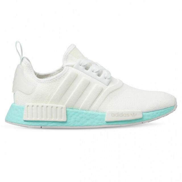 Size 8 - adidas NMD R1 White Clear Aqua