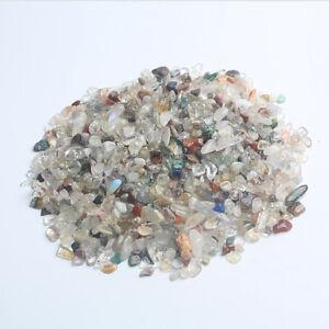500g-Bulk-Large-Tumbled-Stone-Multi-Quartz-Crystal-Healing-Reiki-Mineral-7-9mm