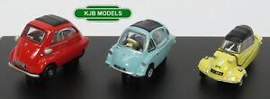 BNIB-OO-GAUGE-OXFORD-1-76-76SET62-3-Piece-Set-Bubble-Car