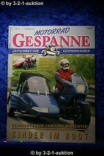 Motorrad Gespanne Nr.34 4/96 Kinder im Boot Speierl BMW Umbau