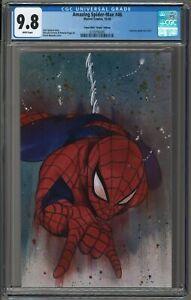 AMAZING SPIDER-MAN #46 FIRST 🍑 PEACH MOMOKO 🍑 VIRGIN CGC 9.8 VARIANT!!!