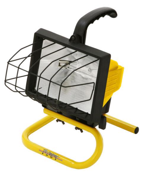 Designers Edge 500 Watt Portable Work Light: L20 Designers Edge 500 Watts Halogen Portable Work Light