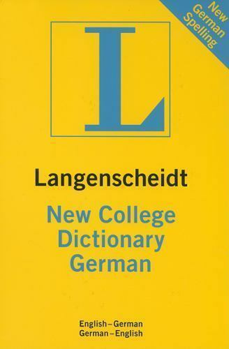 Langenscheidt Standard Dictionaries Ser.: Langenscheidt