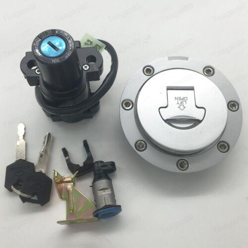 Ignition Switch Fuel Gas Cap Seat Lock Key Set For Honda CBR900//929//954RR 00-03