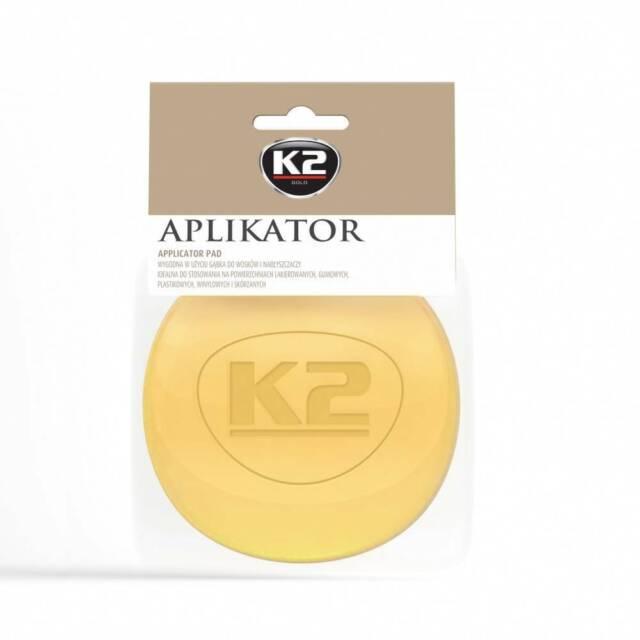 K2 Applicator Pad Polierschwamm Profi Hand Polierpad Ø 100mm