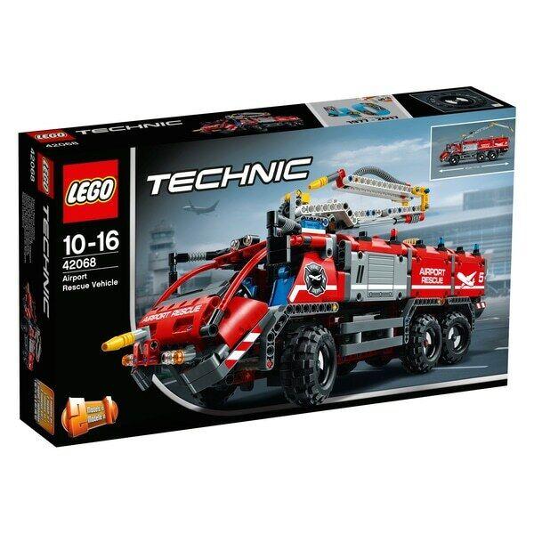 Lego Technic  2 en 1  (42068) vehículo de rescate del aeropuerto (totalmente Nuevo, sellado de fábrica)