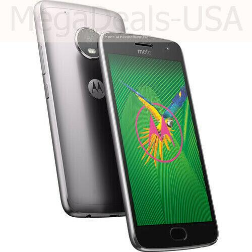 Motorola MOTO G5 Plus - 32GB - Lunar Grey Unlocked - (H4)