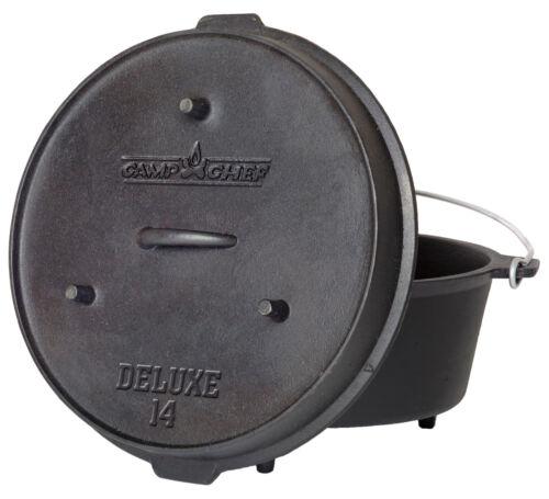 Camp Chef Deluxe Dutch Oven DO-14 incl Deckelheber