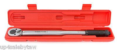 1/2 inch Click Torque Wrench TEKTON 24335 10-150-Feet/Pound