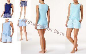 Nautica Side-Striped Pajama Top XS