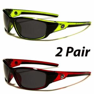 2-Pair-POLARIZED-Nitrogen-Mens-Anti-Glare-Fishing-Driving-Sport-Sunglasses-New