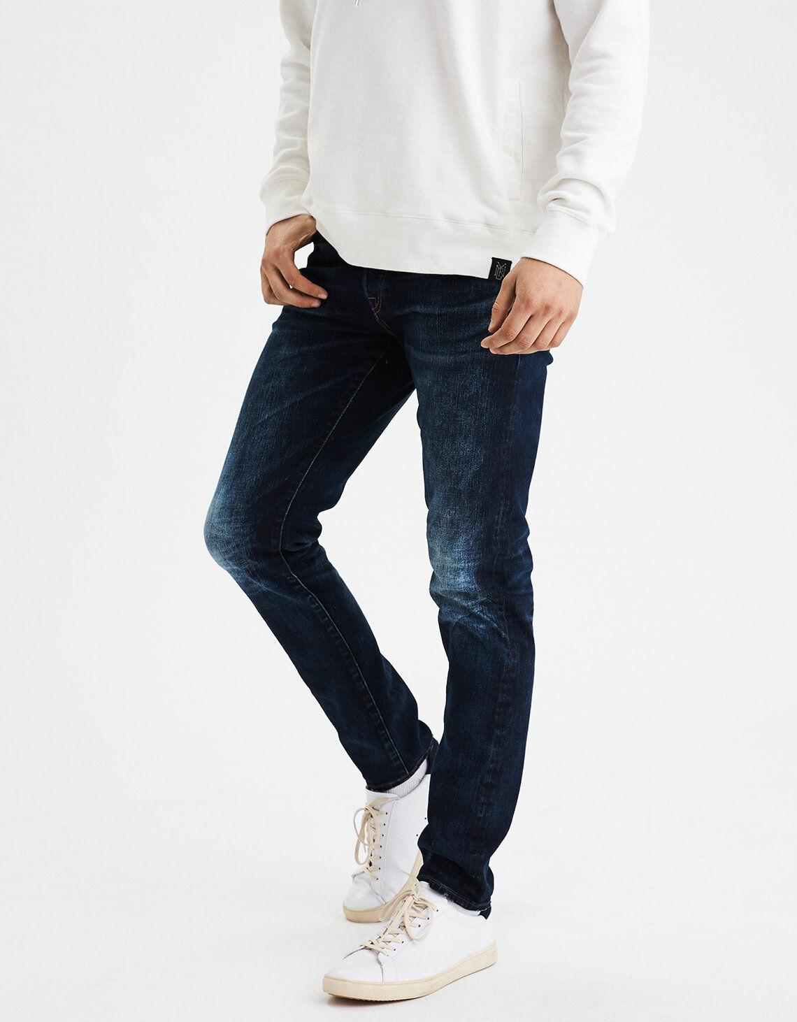 American Eagle Mens-Prämie Kanten Denim Slim Fit Jeans Neu 32x32
