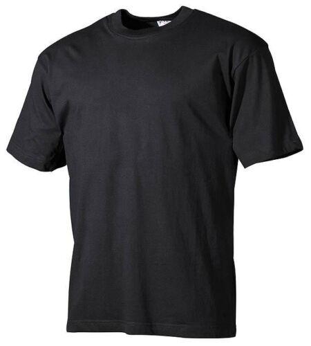 T-SHIRT MAGLIETTA a Maniche Corte Nero S - 4xl baumwollshirt camicia da lavoro tempo libero Maglietta