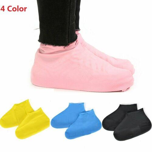 New Waterproof Rubber Reusable Rain Shoe Cover Anti-slip Boot Protector Overshoe