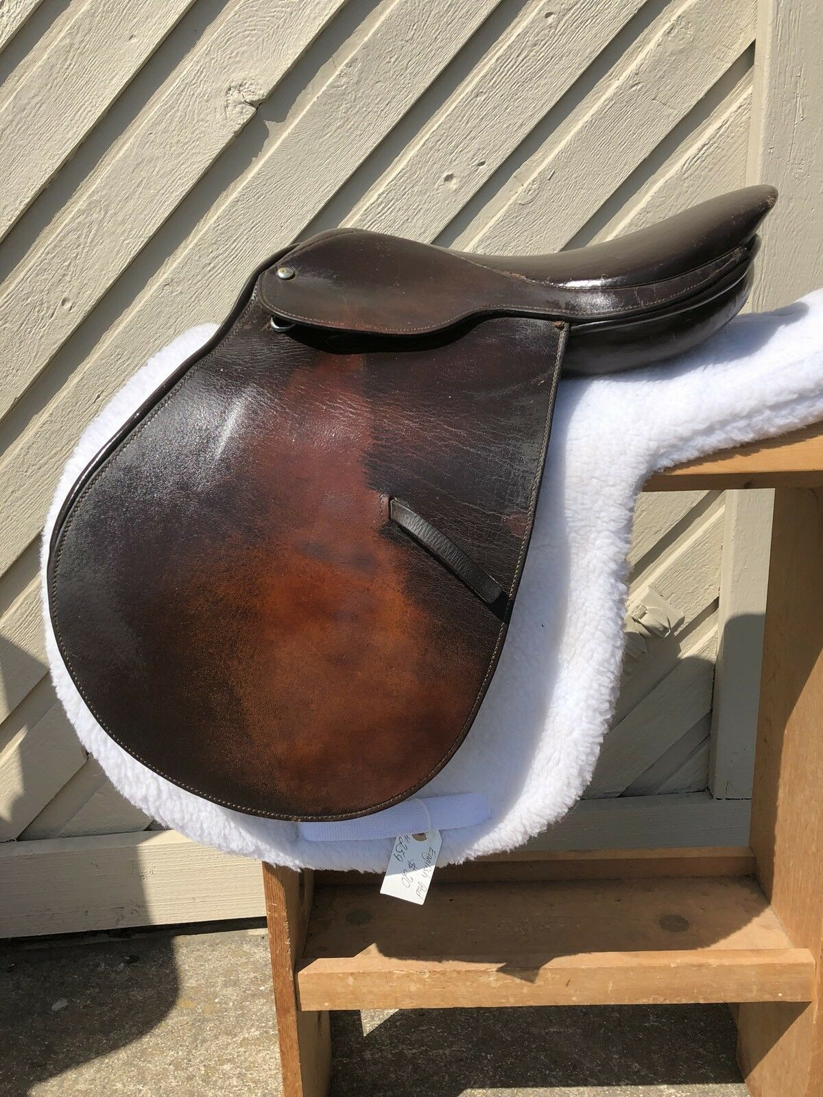 15  CLOSE CONTACT FLAT  SEAT ALL PURPOSE JUMPING WIDE TREE ENGLISH SADDLE  wholesale price and reliable quality