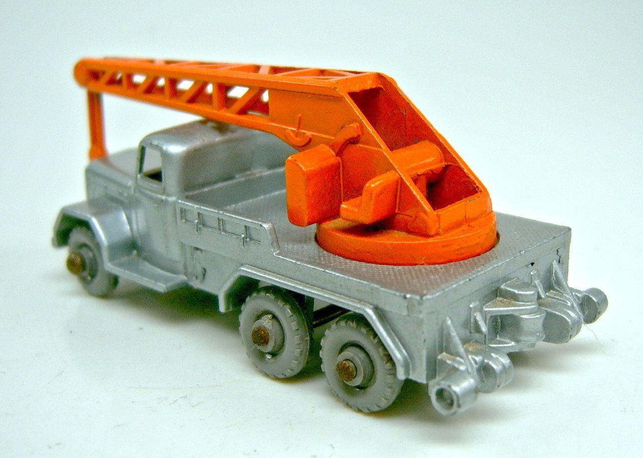 MATCHBOX rw 30b MAGIRUS Crane écotoxicologiques orange orange orange crochet grise roues Heller Outrigger   à Gagnez Un Haut Admiration  c5f2de