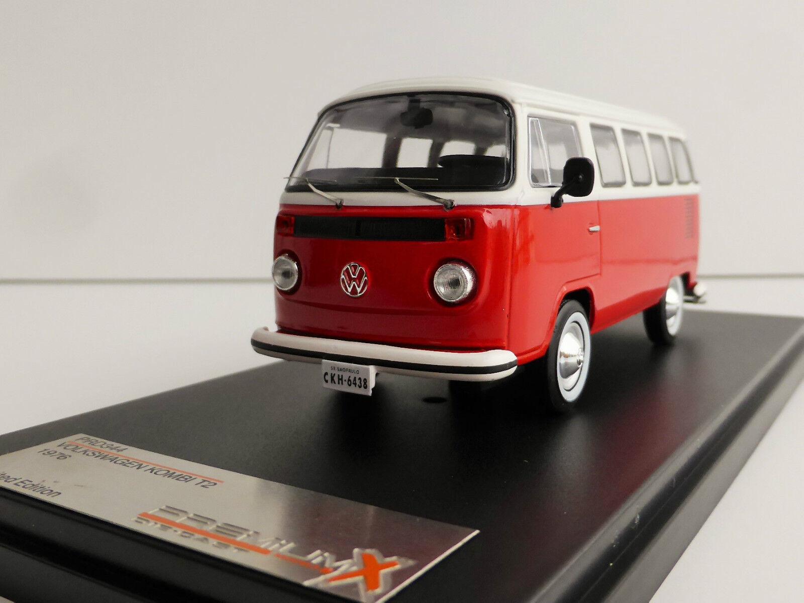 oferta especial VW t2 coche familiar 1976 rojo 1 1 1 43 Ixo Premiumx prd344 prxd344 Type autobús volkswagen matrícula  al precio mas bajo
