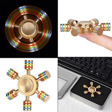 2017 Multicolor Cheap Rainbow Hand Spinner Fidget Spinner EDC Toy Focus ADHD