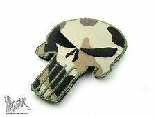 ill Gear CAMO PUNISHER Tactical Skull Patch Apocalypse Survival HOOK & LOOP