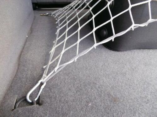 Grau Gepäcknetz Schutznetz Größe 100x150 cm Kofferraumnetz Autonetz