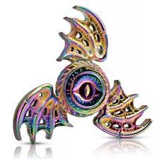 Dragon Wing Rainbow Hand Spinner Fidget Finger Alloy EDC Torqbar Gyro Focus Toys