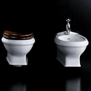 Sanitari sospesi serie classica Simas Arcade per bagno retrò wc con ...