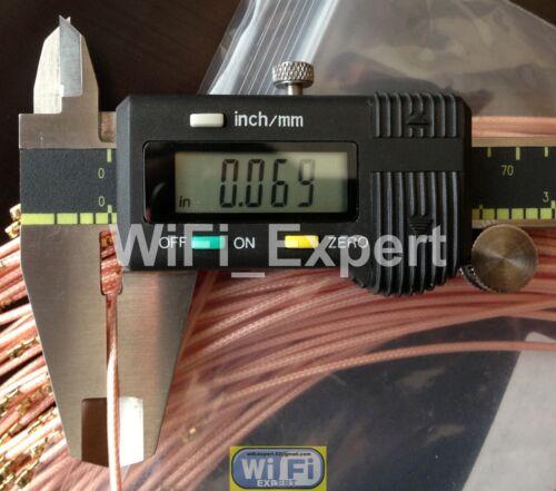 6dBi 7dBi 9dB 2.4 Ghz 5.8 Ghz WiFi Antenna RP-TNC and U.Fl RG178 cable USA