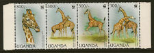 UGANDA:1991 WWF Elephants set SG 988-91 unmounted mint