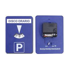 Disco orario automatico elettronico italiano attaccabile adesivo