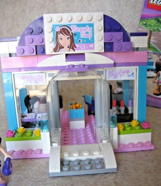 Lego 3187 Friends Butterfly Beauty Shop Hair Salon Winstruction