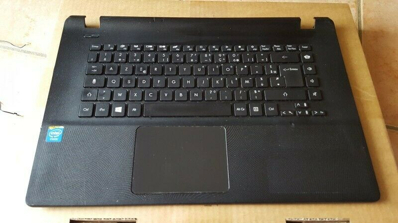 Packard Bell ENTF71BM,  Acer ES1-521 Laptop keyboard with touchpad and Palmrest