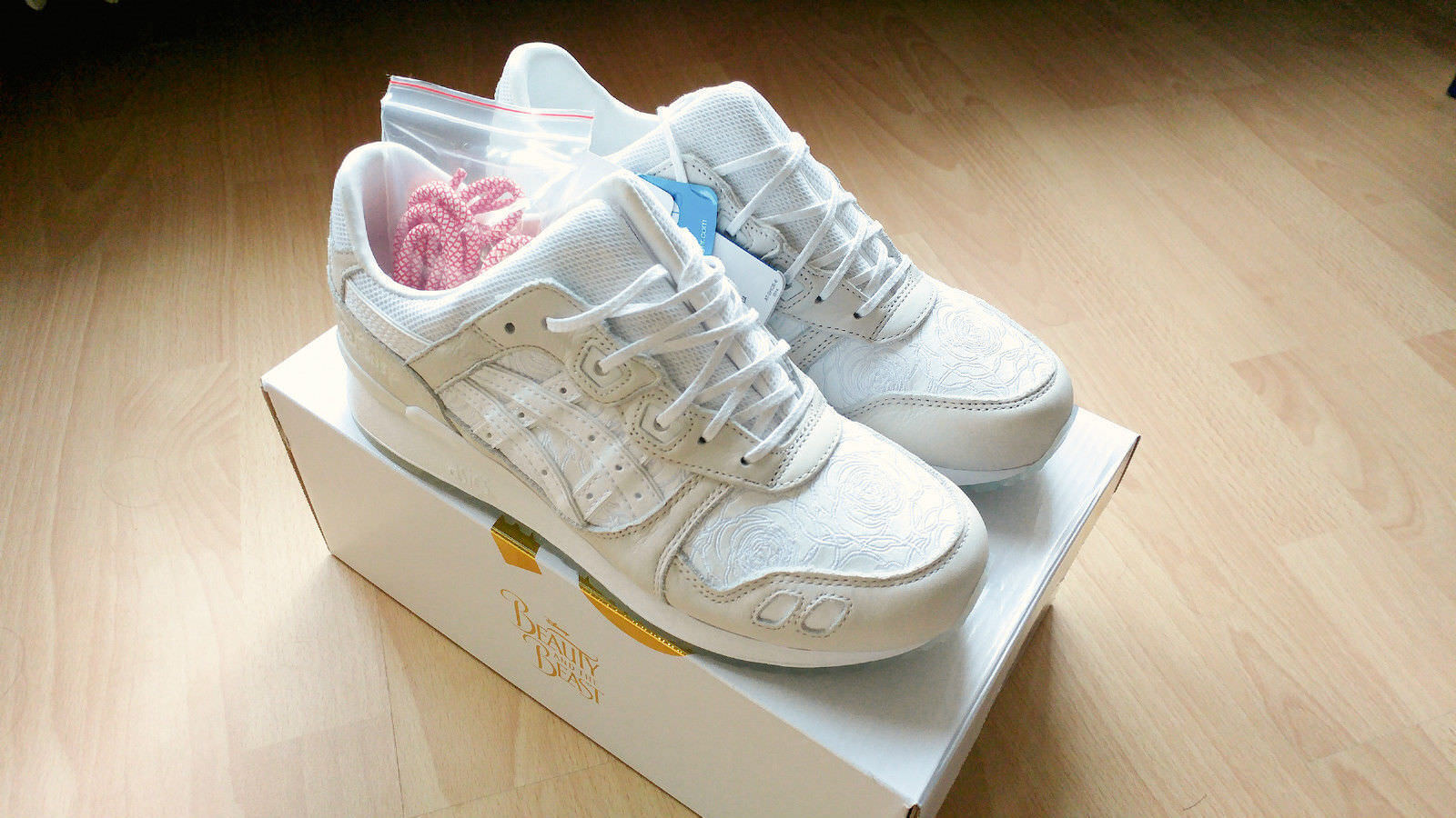 ASICS x DISNEY Gel Lyte III  Beauty And The Beast  US 7.5   EUR 39   NEU OVP