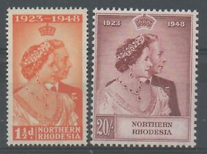 Northern Rhodesia 1948 royal silver Wedding unmounted mint ...