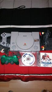 Sony Playstation SCPH-1001 Console Bundle *Not Working Read Description
