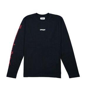 Oakley-LS-Thermonuclear-Tee-T-Shirt-Uomo-FOA400627-02E-Blackout
