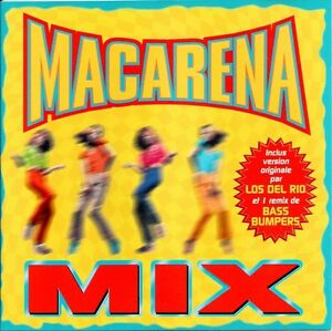 Compilation-CD-Macarena-Mix-France-M-EX