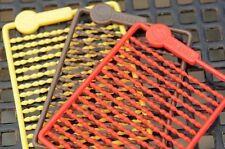 Guru Micro Hair Stops - Red, Brown, Yellow Terminal Tackle - GHS