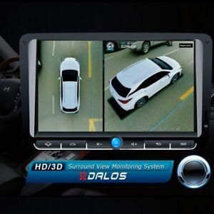 Szdalos Hd 3d 360 Bird View System 4 Metal Car Camera