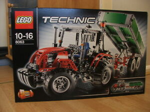 Image is loading NEW-Lego-Technic-8063-Farm-or-Construction-Tractor-